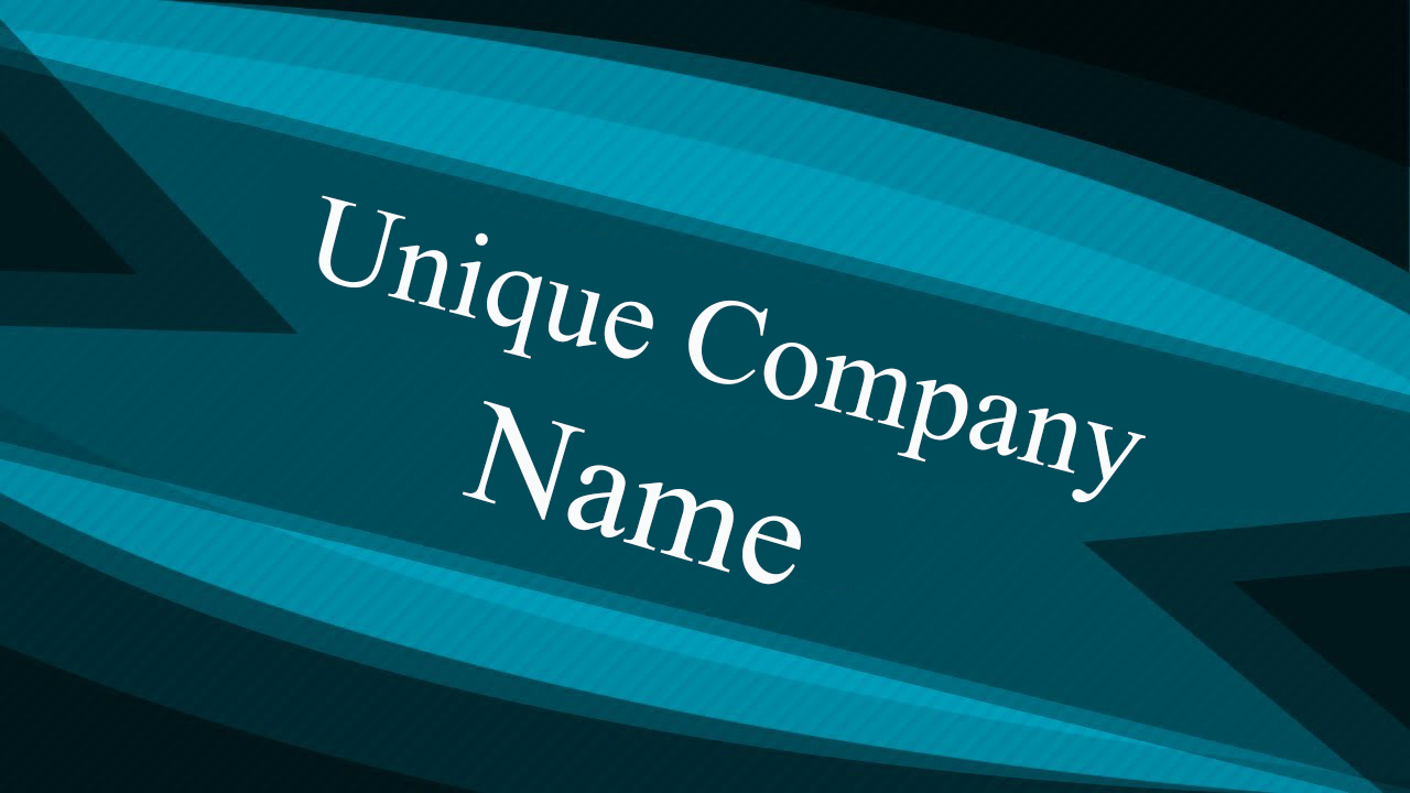 How To Pick Unique Company Names