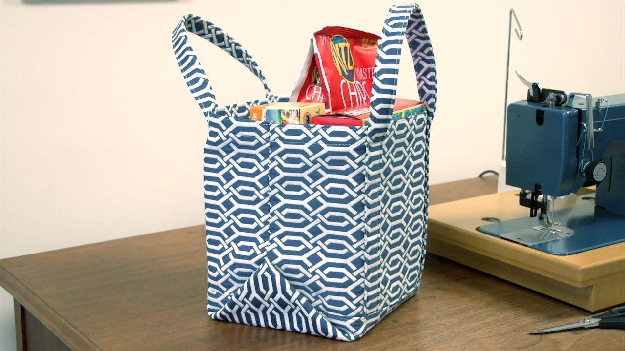 Learn How to Make a Shopping Bag or Cloth Bag