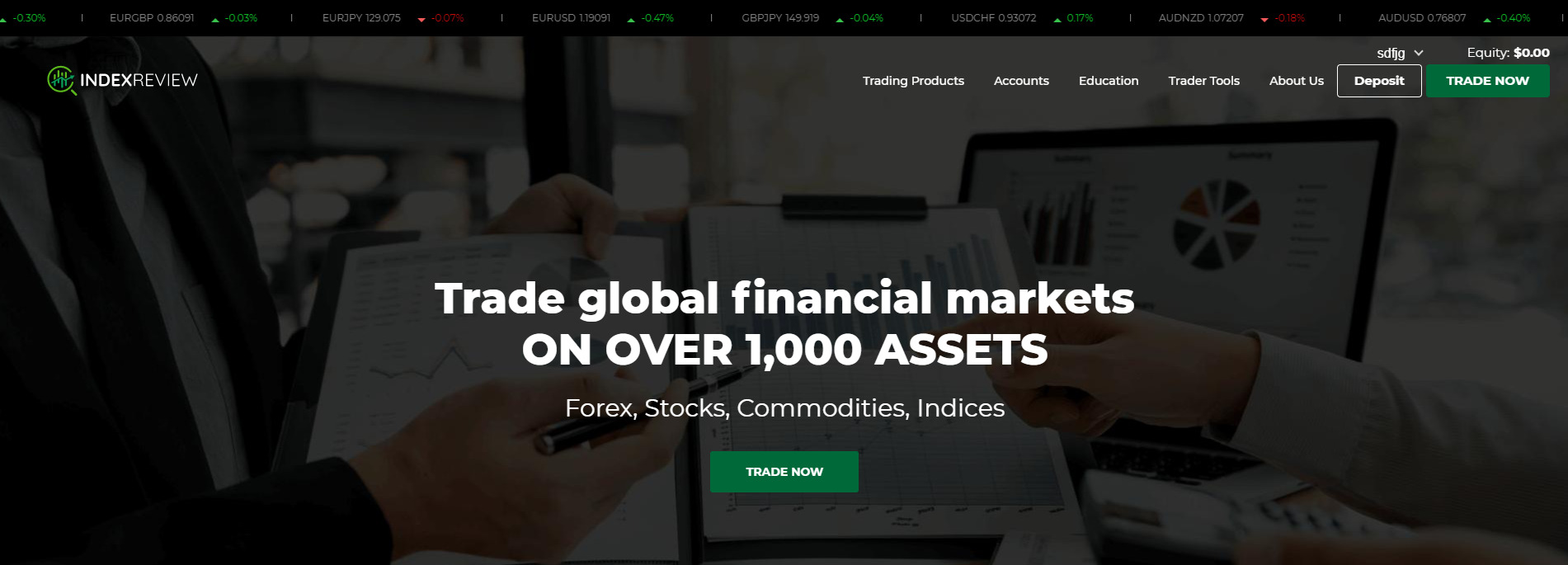 IndexReview tradable assets
