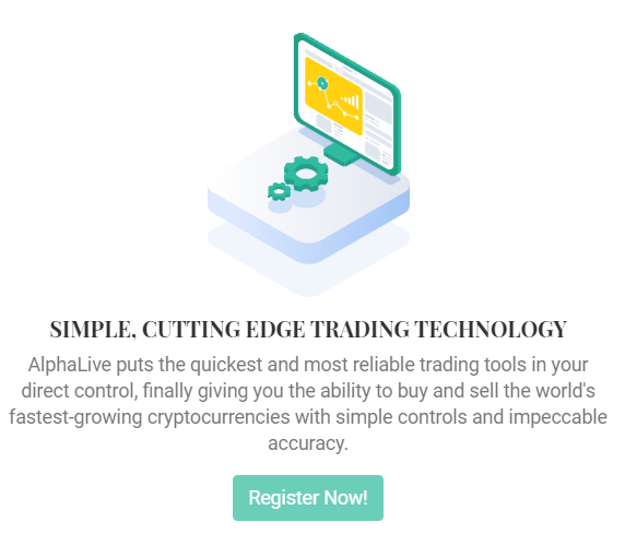 AlphaLive trading technology
