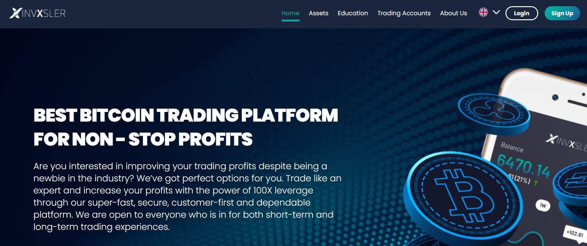 Invxsler website
